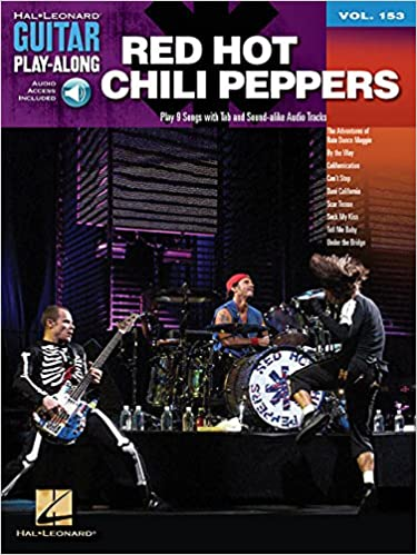 Amazon.com  Red Hot Chili Peppers  Guitar Play-Along Volume 153 (Hal Leonard  Guitar Play-Along) (0884088634612)  Red Hot Chili Peppers  Books 33dbcd4b5d4