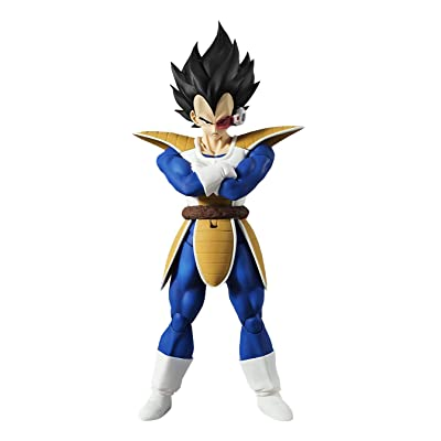 S.H. Figuarts Dragon Ball Z Vegeta Approx. 6.3 inches (160 mm) PVC & ABS Painted Action Figure: Toys & Games