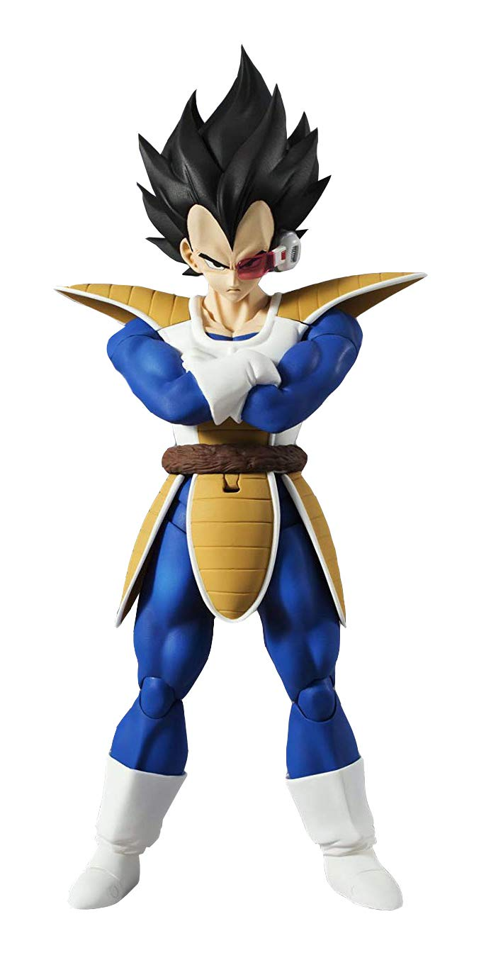 160 mm PVC /& ABS Painted Action Figure S.H 6.3 inches Figuarts Dragon Ball Z Vegeta Approx
