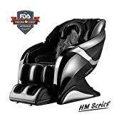 3D Kahuna Exquisite Rhythmic Massage Chair Hubot HM-078 - Black