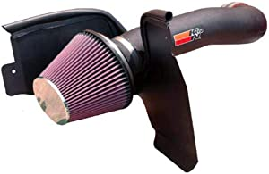 K&N Cold Air Intake Kit: High Performance, Increase Horsepower: 50-State Legal: Compatible with 2004-2007 (JEEP Liberty)57-1540