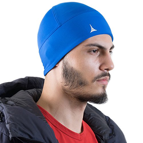 (French Fitness Revolution Helmet Liner Skull Cap Beanie. Ultimate Thermal Retention and Performance Moisture Wicking. Fits Under Helmets)
