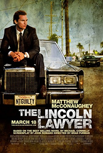 The Lincoln Lawyer 2011 S/S Movie Poster 13.5x20