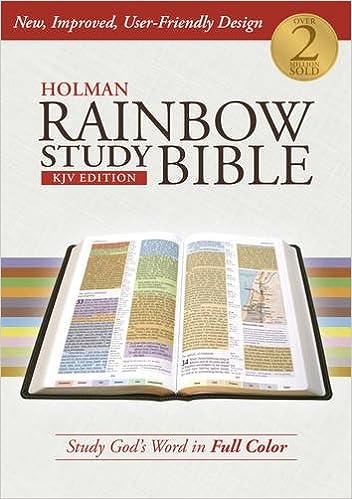 Holman Rainbow Study Bible: KJV Edition, Hardcover: Holman