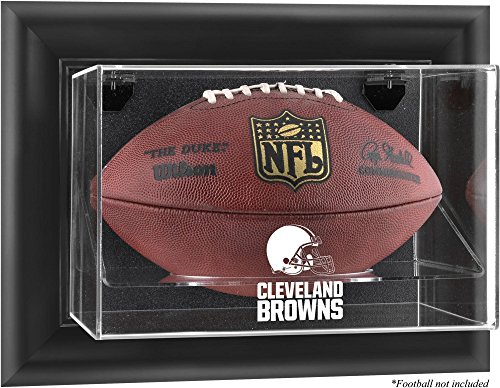 (Mounted Memories Cleveland Browns Football Logo Display Case)
