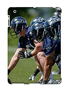 Case For Ipad 2/3/4 Tpu Phone Case Cover(seattle Seahawks Nfl Football 24) For Thanksgiving Day's Gift
