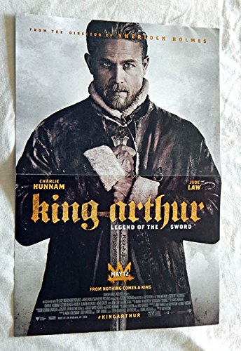 legend-of-king-arthur-movie-folded-promo-poster-three-17-inches-x-115-inches-village-roadshow-pictur