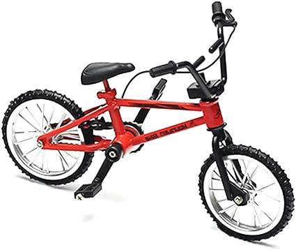 Queta Creative Simulación Modelo Mini Aleación Dedo de Bicicleta ...