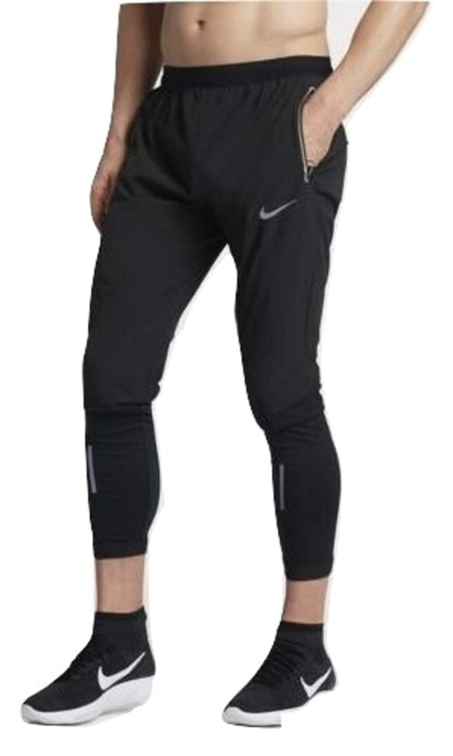 0bd00f207a59ab Nike Men's Flex Swift Running Pants Black/Reflective Silver (X-Large):  Amazon.ca: Clothing & Accessories