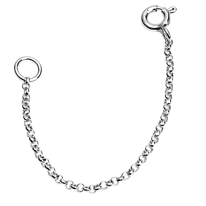 0c80c6ca0 Amazon.com: 100% Authentic Pure 925 Sterling Silver Very thin 1mm 2