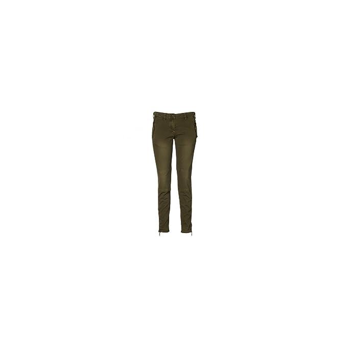 Amazon.com: Gant – Pantalon Gant Kaki Carotte pour femme ...