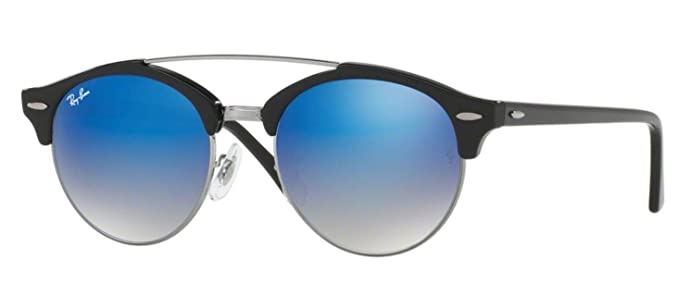 Amazon.com: Ray-Ban RB4346 Clubround - Gafas de sol de doble ...