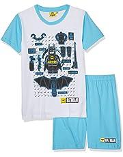 LEGO Batman Chicos Pijama Mangas Cortas - Blanco