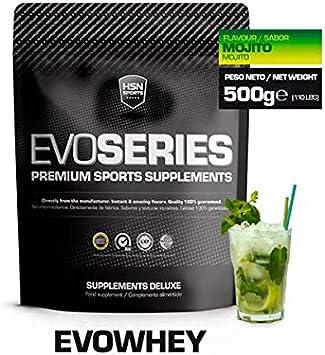 HSN Sports Evowhey Proteína Concentrada de Suero Sabor Mojito - 500 gr