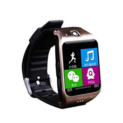 Amazon.com: QUARKJK Smart Watch with SIM TF SD Card Camera ...