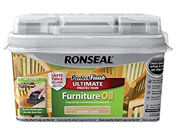 Ronseal GFOT750 Perfect Finish Huile ml vernis finition pour ...