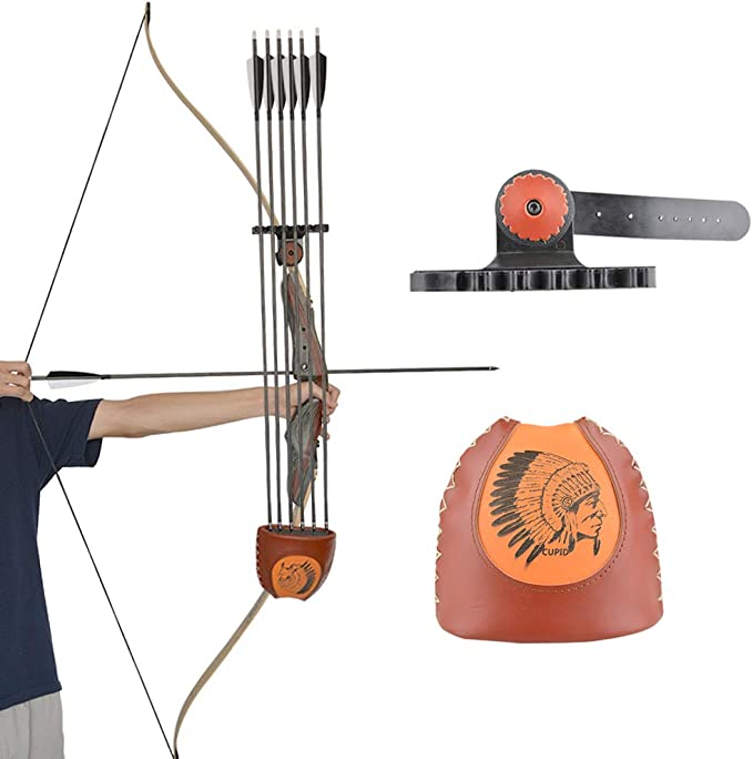 5 Spot Arrows Quiver Holder Quick Release Lock Mounting Archery Compound Bow