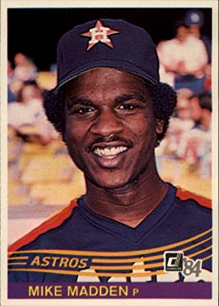 Amazoncom 1984 Donruss Baseball Card 161 Mike Madden
