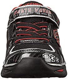 Skechers Kids Star Wars Dynamo Continuem Sneaker (Toddler/Little Kid), Black/Red, 10 M US Toddler