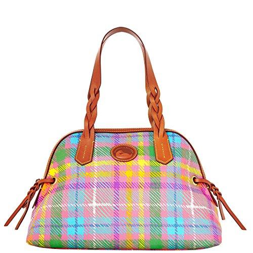 dooney-bourke-madras-small-domed-satchel-handbag-purse