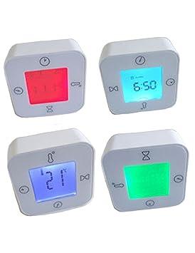 IKEA lottorp Blanco multifunción termómetro Digital Temporizador Reloj de Alarma de Temperatura: Amazon.es: Electrónica