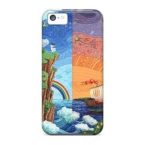 Special CaroleSignorile Skin Cases Covers For Iphone 5c, Popular Cg Painting Phone Cases