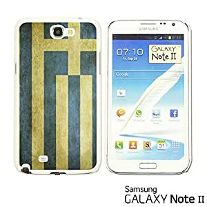 OnlineBestDigital? - Flag Pattern Hard Back Case for Samsung Galaxy Note 2 - Greece