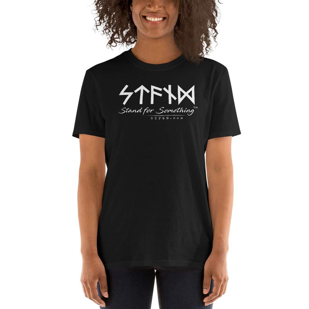 Short-Sleeve Unisex T-Shirt Black STFND Full Logo