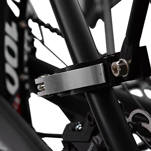 RockBros Bicycle Cargo Rack Mountain Bike Fender Board Quick Release Carrier Rear Rack Alloy Black by RockBros (Image #4)