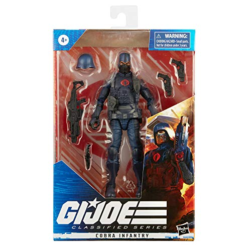 GIJ CS Figure Carpenter BEE G.I. Joe Classified Series Cobra Infantry Action Figure 24 Collectible Premium Toy with Accessories 6-Inch Scale with Custom Package Art