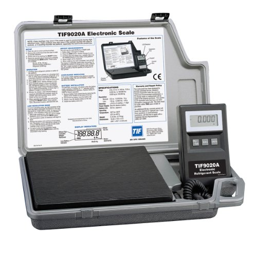 (Robinair TIF9020A Electronic Refrigerant Scale)