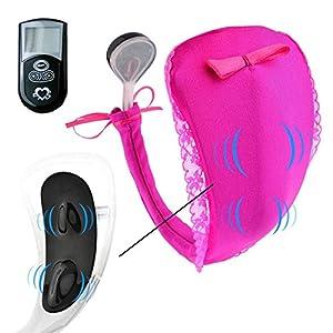 LoiStu Silent Cozy Massage Panties Vibrating Panties Vibrator (Rose Red)