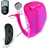 LoiStu Silent Cozy Massage Panties Vibrating Panties Vibrator(Rose Red)