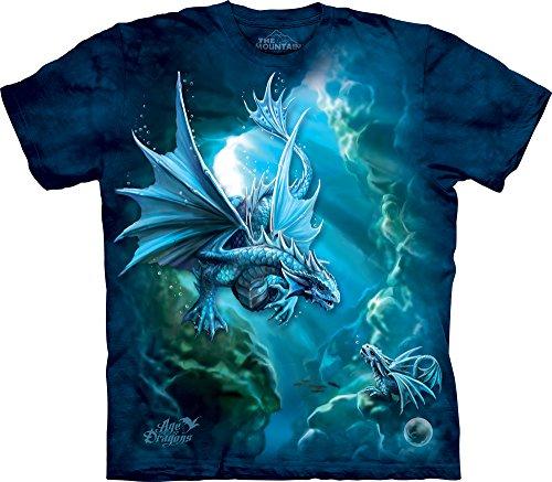 The Mountain Men's Sea Dragon T-Shirt, Blue, Large