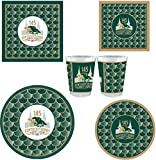 Westrick 145th (2019) Kentucky Derby Party Supplies 120 Pieces