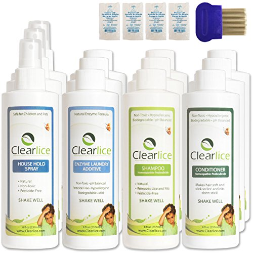 Clearlice Jumbo Size Lice Treatment Kit