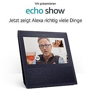 Wir stellen vor: Echo Show - schwarz