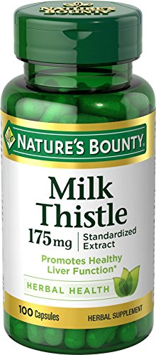Natures Bounty Thistle 175mg Caplets