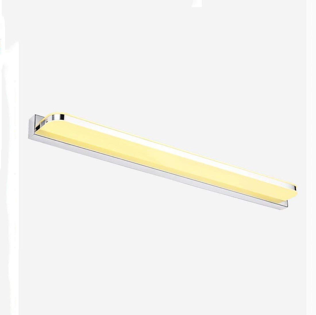 JBP Maß Spiegel Leichtes Bad Licht LED-Spiegel Scheinwerfer Einfache Wand Lampe Bad Dressing Tischspiegel Schrank Beleuchtung,WarmWeiß,9W42cm