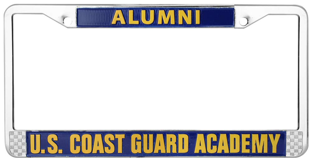 MP U.S Coast Guard Academy Alumni License Plate Frame