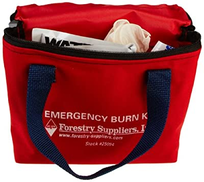 Pac-Kit by First Aid Only 3030 9 Piece Water-Jel Emergency Burn Kit in Fabric Pouch by Pac-Kit