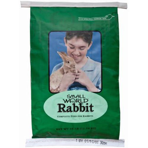 Manna Pro 47530 Small World Rabbit Feed, 25-Pound