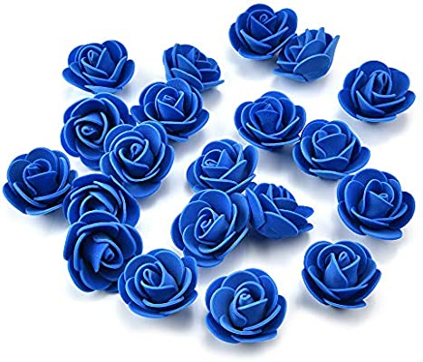 Artificial Flowers Fake Flower Heads Mini Pe Foam Roses For