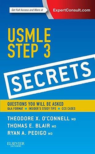 USMLE Step 3 Secrets (1st 2014) [O'Connell, Blair & Pedigo]