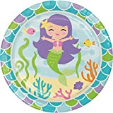 Best Creative Converting Friends Plates - Mermaid Friends Dessert Plates, 24 ct Review