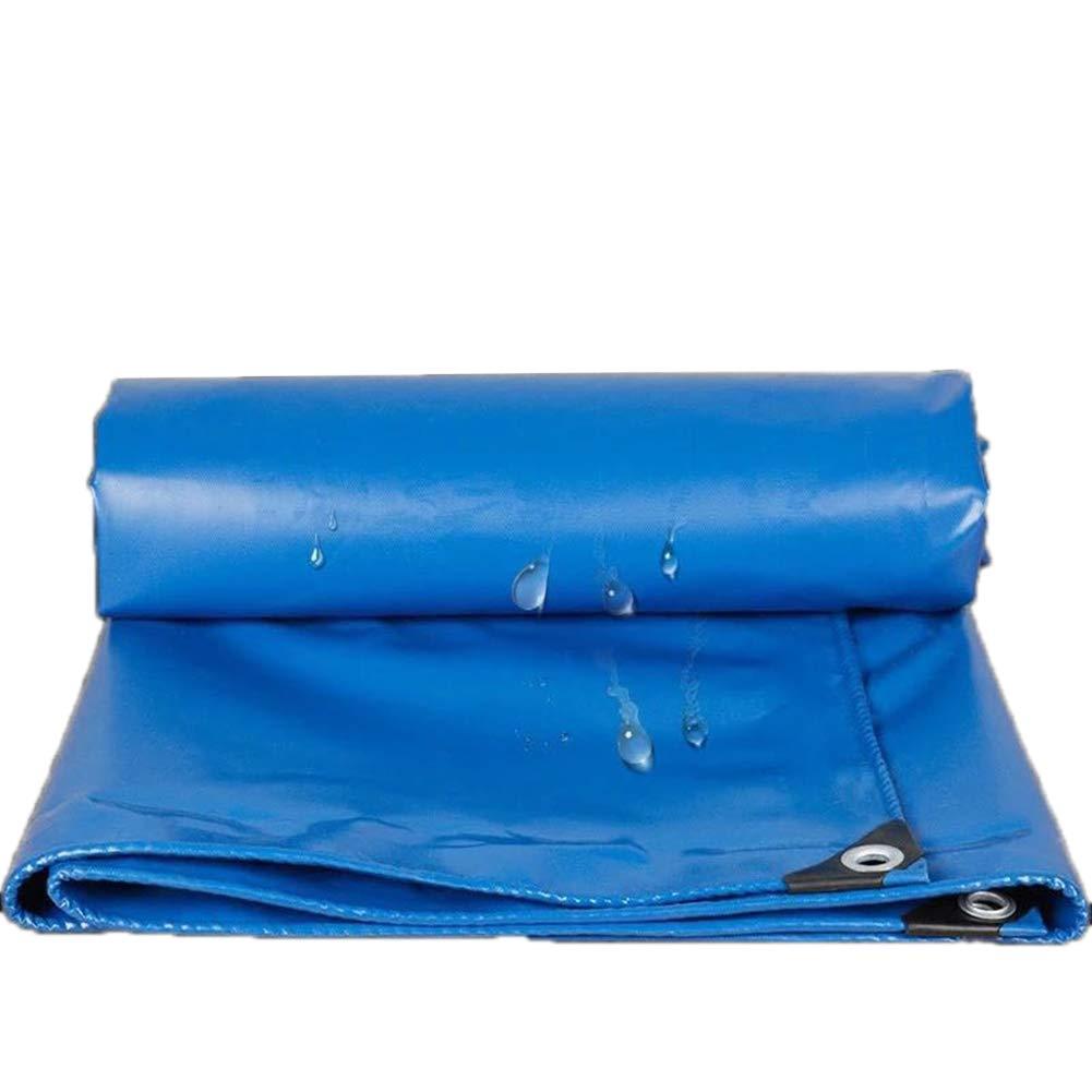 Blaues Licht-Plane-regendichte Tuch-Wasserdichte Segeltuch-Plane-LKW-Abdeckungs-Dach-im Freien Oxford-Halle
