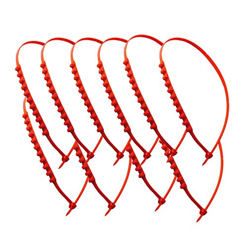 (Wadoy Tire Chains Universal Winter Snow Type Portable Emergency Traction Aid Anti-Slip Chain for SUV Car Van ATV Jeep Honda Toyota Nissan VW Ford Mercede Benz BMW HTATMT Jeep Tyre(10 PCS))