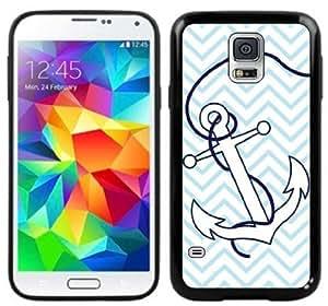 Anchor Chevron Handmade Samsung Galaxy S5 Black Case by icecream design