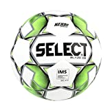 Select Blaze Db Soccer Ball, White/Black/Lime, Size 5