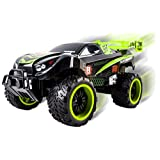 Thunder Remote Control RC Truck Truggy Car Light up Wheels Ready to Run Includes Rechargeable Battery 1:16 Size Toy (Green)